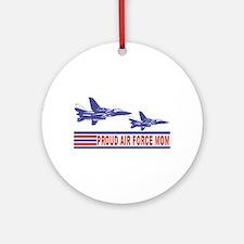 Proud Air Force Mom Ceramic Ornament