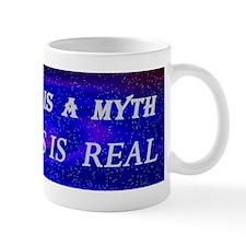 Evolution Is a Myth Mug
