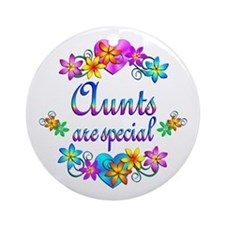Aunts are Special Ornament (Round)