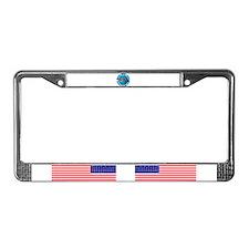 Great days start with striper's License Plate Fram