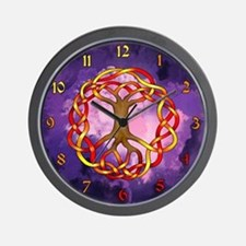 Yggdrasil/Fall Wall Clock