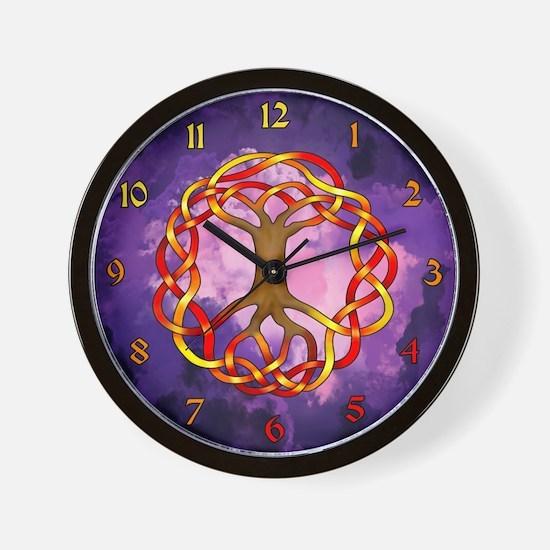 Yggdrasil/Fall Wall Clock