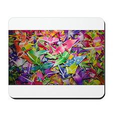 Origami Crane Madness Mousepad