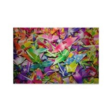 Origami Crane Madness Rectangle Magnet