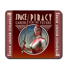 Space Piracy: Career for the Future Mousepad