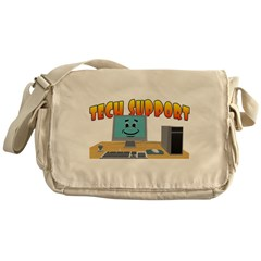 Happy Tech Support Messenger Bag