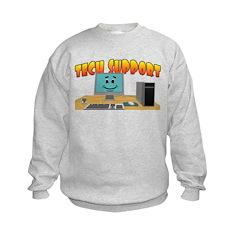 Happy Tech Support Sweatshirt