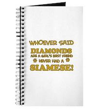 Siamese cat lover designs Journal
