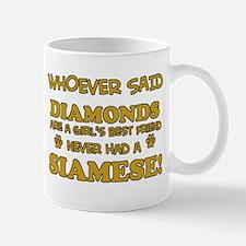 Siamese cat lover designs Mug