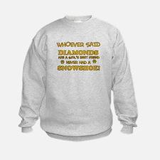 Snowshoe cat lover designs Sweatshirt