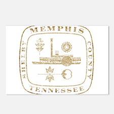 Vintage Memphis Postcards (Package of 8)