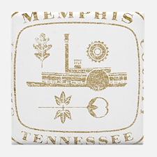 Vintage Memphis Tile Coaster
