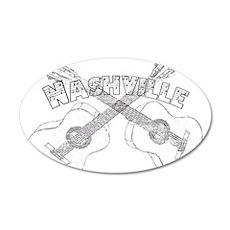 Nashville Guitars Wall Decal