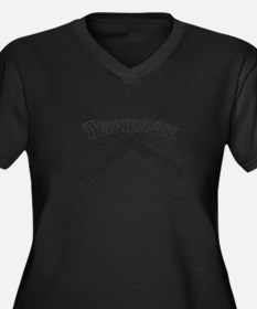 Tennessee Guitars Plus Size T-Shirt