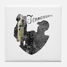 Tennessee Fishing Tile Coaster