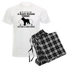 Black Russian Terrier merchandise pajamas