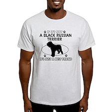 Black Russian Terrier merchandise T-Shirt