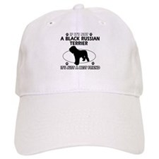 Black Russian Terrier merchandise Baseball Cap