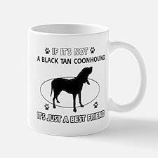 Black Tan Coonhound merchandise Mug