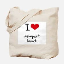 I Love NEWPORT BEACH Tote Bag