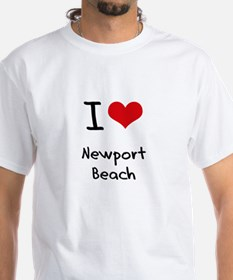I Love NEWPORT BEACH T-Shirt