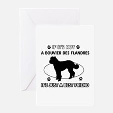 Bouvier Des Flandres merchandise Greeting Card
