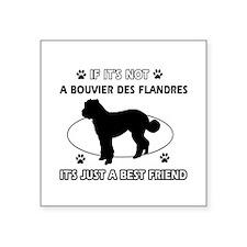 """Bouvier Des Flandres merchandise Square Sticker 3"""""""