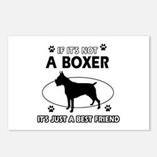 Boxer merchandise Postcards (Package of 8)