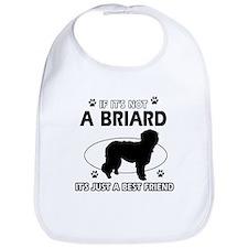 Briard merchandise Bib
