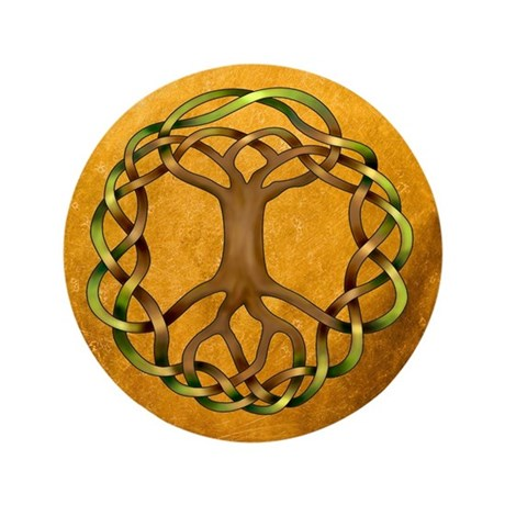 "Yggdrasil 3.5"" Button (100 pack)"