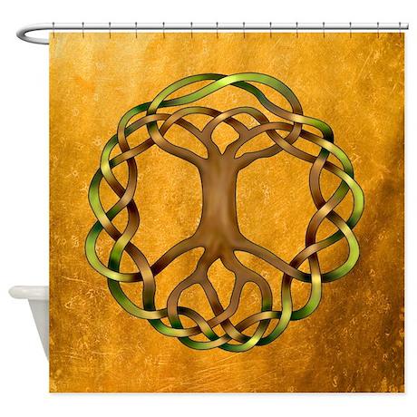 Yggdrasil Shower Curtain