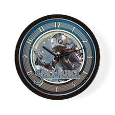 Space Patrol Wall Clock