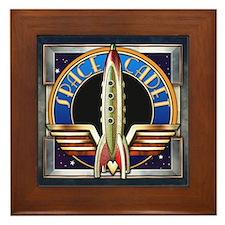 """""""Space Cadet"""" Framed Tile"""