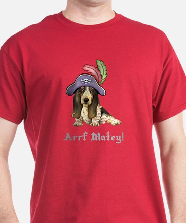 Basset Pirate T-Shirt