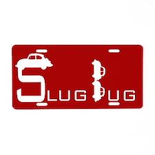 Tornado Red Slug Bug Front License Plate