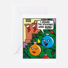 Stockings Hung Greeting Cards (Pk of 10)