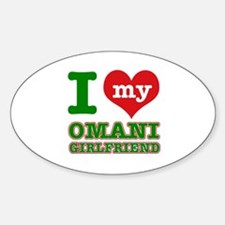 I love My Omani Girlfriend Decal