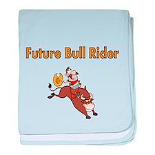 Future Bull Rider baby blanket