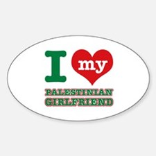 I love My Palestinian Girlfriend Decal