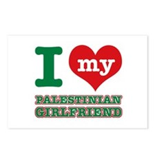 I love My Palestinian Girlfriend Postcards (Packag