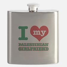 I love My Palestinian Girlfriend Flask