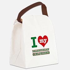 I love My Palestinian Girlfriend Canvas Lunch Bag