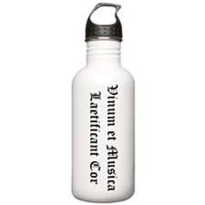 Wine & Music Water Bottle