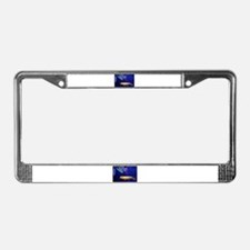 Golden Koi License Plate Frame