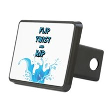 FLIP TWIST AND RIP Hitch Cover