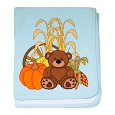 Autumn design with Pumkins and Teddy Bear baby bla