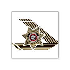 Sheriff San Bernardino Rectangle Sticker