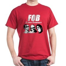 FOB Sound Company logo dark with members T-Shirt