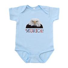 Murica! Bald Eagle Body Suit