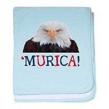 Murica! Bald Eagle baby blanket